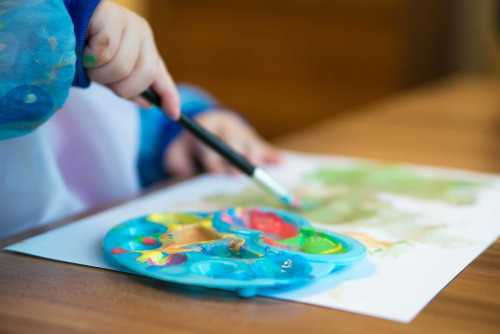 raising an artistic child